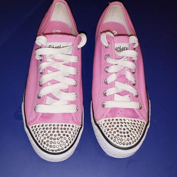 Skechers Shoes | Womens Pink Twinkle